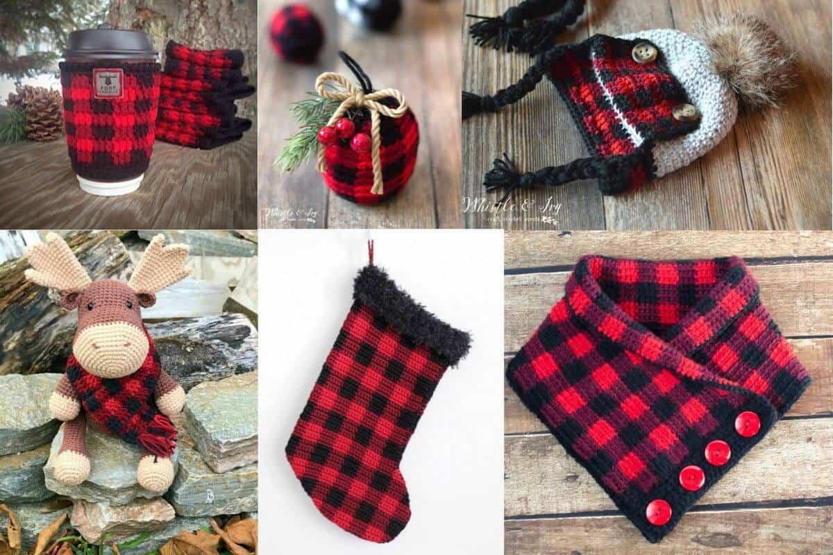 Buffalo Plaid Crochet Patterns Crochet To Play