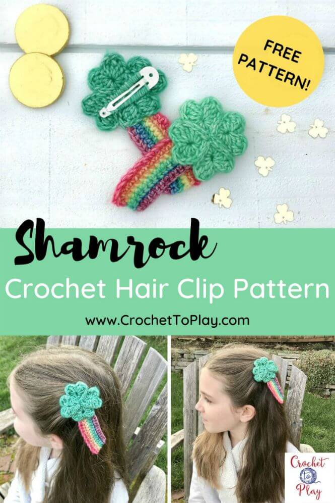 Hair Clip Free Crochet Patterns | Crochet butterfly pattern ... | 996x665